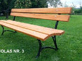 Lauko baldai, stalas, suoliukai. - nuotraukos Nr. 6