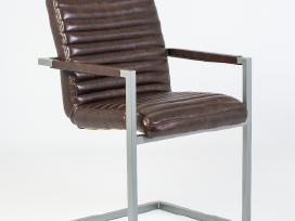 Odines Bergamo kėdė, industrinio metalo rėmas - nuotraukos Nr. 3