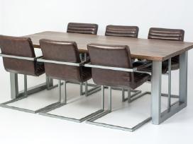 Odines Bergamo kėdė, industrinio metalo rėmas - nuotraukos Nr. 6