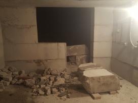 Betono mūro ardymas bei pjovimas griovimo darbai - nuotraukos Nr. 6