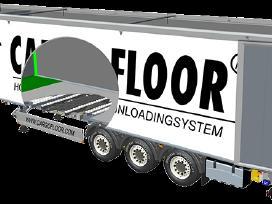 Cargo Floor Dalys, puspriekabėms slankiojančiomis