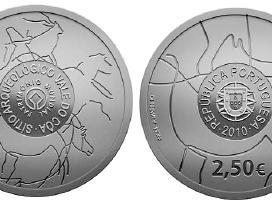 Portugalija 2,50 euro 2010 Coa Valley