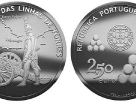 Portugalija 2,50 euro 2010 Torres Lines