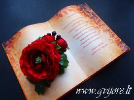 Vestuviniai kvietimai ir kt. vestuvinė atributika - nuotraukos Nr. 8