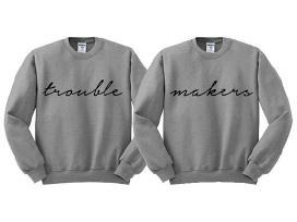 Nauji džemperiai-bliuzonai Jam ir Jai