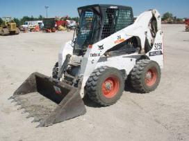 Bobcat S250 nuoma, polių grezimas,žemės darbai!