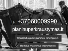 Pianinų pardavimas-derinimas, pervežimas