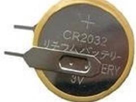 Elementai Cr2032, lituojami