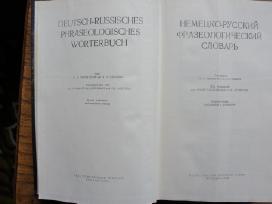Vokieciu - Rusu kalbu frazeologonis zodynas
