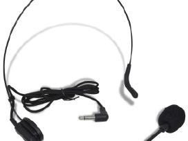 Imtuvas ir 1 Bevielės Ausinės Vhf su Mikrofonu