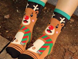 Išparduodame! Kojinės su Kalėdiniais motyvais