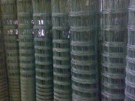 Metalinės segmentinės tvoros, vartai, prekyba
