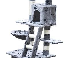 Draskyklė, Stovas Katėms, 122 cm, vidaxl