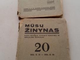 Žurnalai ir laikraščiai