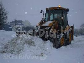Sniego valymo palaugos