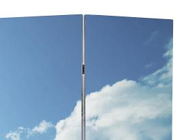 Kambario Pertvara 240 x 180 cm, vidaxl