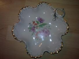 Lėkštė saldaininė porcelianas servizas