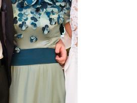 Proginė šilkinė suknelė