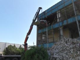 Griovimo darbai .atstatome griuvančias sienas
