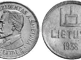 Brangiai perku puikios būklės Lietuvos monetas