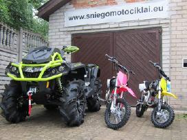 Keturračių, Sniego motociklų aksesuarai ir detalės