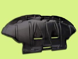 Plastmasines arkos, posparniai, variklio apsaugos