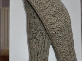 Šiltos kojinės iš šunų vilnos