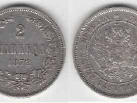 Rusija-suomija 2 marka 1874m. St. puikus. Kaina 35 - nuotraukos Nr. 3