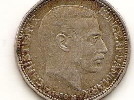Danija 2 kroner 1930 #829 (1614)