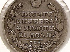 Carine Rusija rublis 1818 Pc (1670)