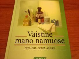 Knyga vaistinėmano namuose