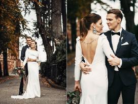 """Vestuvinė suknelė """"Made by Jovita Valaite"""""""