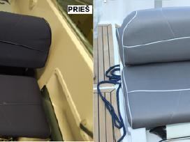 Auto ir laivų salonų remontas, sėdynių siuvimas