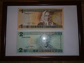 Įrėminti litų banknotai - puki dovana! - nuotraukos Nr. 2