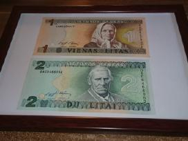 Įrėminti litų banknotai - puki dovana! - nuotraukos Nr. 3