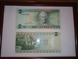 Įrėminti litų banknotai - puki dovana! - nuotraukos Nr. 5