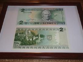 Įrėminti litų banknotai - puki dovana! - nuotraukos Nr. 6
