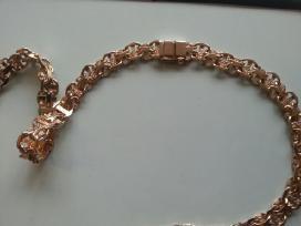 Auksinė grandinėlė Inkarinė x2 120gr.