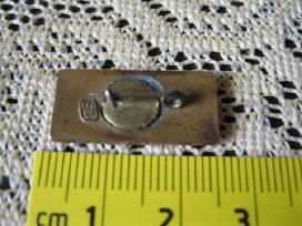 CCP zenkliukai .zr. foto.sukaus metalo su emalem - nuotraukos Nr. 3