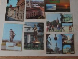 Atvirutes su Lietuvos miestu vaizdais