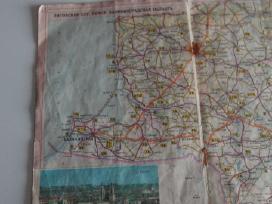 Tarybiniu laiku atlasai automobiliniu keliu