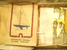 Klijuojamas laivo Soling modelis - nuotraukos Nr. 2