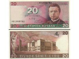 Brangiai Perku Visus Lietuvos Banknotus