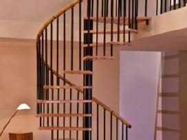 Sraigtiniai laiptai Spiral Decor (buko pakopos)