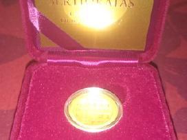 2015m 50 Eur Moneta, skirta monetų kalybai LDK