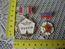 2 vnt .Zenkliukai - medaliukai CCCP.id: 26317837