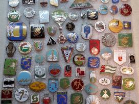 Perku Ženkliukus, ženklus, perku kolekcijas