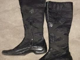 Kombinuoti odiniai su medžiagine dalimi batai