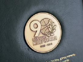 Lietuvos krepšiniui 90 - Lkf padėkos ženklas