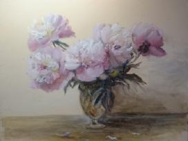 """""""Rožiniai Bijūnai"""" 40x50 cm, - nuotraukos Nr. 4"""